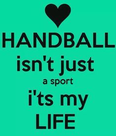 Just handball ! Just handball ! Women's Handball, Handball Players, Goalkeeper Training, Stupid Quotes, Football, Sport Quotes, Van Life, Inspirational Quotes, Motivation