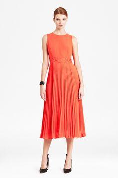 Handsome Orange Work Dresses