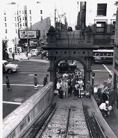 Angel's Flight, Los Angeles 1953