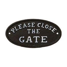 Terrain Gate Sign #shopterrain