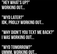 Mebut I say crossfit instead of working out Workout Memes, Gym Memes, Gym Humor, Fitness Humor, Funny Fitness, Funny Workout, Funny Gym, Fitness Life, Health Fitness