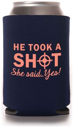 Custom koozie wedding favors! 45081/NW. As low as $0.76 each. Call for available colors. #wedding #koozie #partyfavors