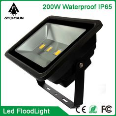 6pcs Waterproof Led Flood light 200W Warm/Cool White Outdoor lighting,Led Floodlight AC85-265V Led Reflector Outdoor Spotlight