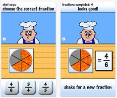 Free App: Pizza Fractions