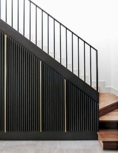 Minimalist staircase solutions design / I've noted a general growth of interest in minimalist interior design recent years. So I would like to share some samples of modern construction solutions of contemporary staircase design / Darya Girina Staircase Storage, Interior Staircase, Stair Storage, Staircase Design, Interior Exterior, Interior Architecture, Cottage Staircase, Hidden Storage, Interior Design