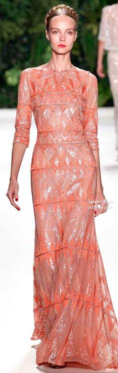 Naeem Khan Spring 2014 #NYFW -----  gorgeous gown