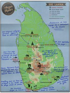 Itinéraire Sri Lanka Travel Tours, Asia Travel, Travel Guides, Sri Lanka Itinerary, Laos Vietnam, Kerala, Islands, Travel Pictures, Travelling