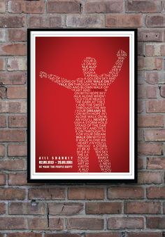 LIVERPOOL FC LFC Bill Shankly You'll Never Walk by Redpostbox, £12.00