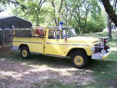 1968 International Harvester 1200C 4X4 attack bruch fire truck