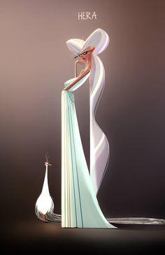 The Character Design Challenge! Character Concept, Character Art, Concept Art, Greek Mythology Art, Greek Gods And Goddesses, Goddess Art, Le Far West, Character Design References, Pretty Art