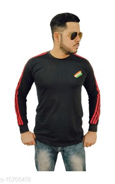 Tshirts Indian Army Camaouflage Stylish T-shirt for men (Full) Fabric: Cotton Sleeve Length: Long Sleeves Pattern: Solid Multipack: 1 Sizes: XL (Chest Size: 21 in Length Size: 28 in)  L (Chest Size: 20 in Length Size: 27.5 in)  M (Chest Size: 18 in Length Size: 26 in)  XXL (Chest Size: 22 in Length Size: 29.5 in)  Country of Origin: India Sizes Available: M, L, XL, XXL   Catalog Rating: ★4.4 (494)  Catalog Name: Trendy Partywear Men Tshirts CatalogID_1978418 C70-SC1205 Code: 163-10755418-168