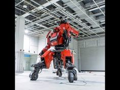 KURATA, the world's first robotic mech suit - YouTube
