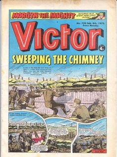 1975 was my favourite year for the victor. 1974 was pretty good too. The comic changed little in the early to mid 70s. Lots of high quality stories and images. http://www.lancs-fusiliers.co.uk/gallerynew/20THBN/Victor%20best%20front.jpg