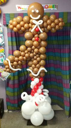 127 Best Christmas Balloon Decor Images Christmas Parties