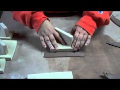 Tapas Plate Demo great video tutorial making square slab plates foam pottery ceramics clay