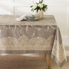 7 best french tablecloth images table top covers indian table rh pinterest com