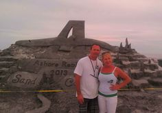The 4th Annual Ashore Realty Sand Castle Building Contest in Brigantine.