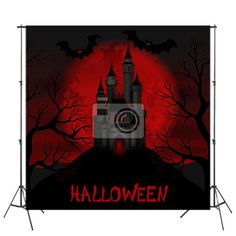 Scary Red Halloween Backdrop at http://www.visionbedding.com/halloween-custom-size-backdrop-p-3092196.html
