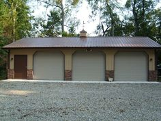 Pole+Barn+Garage+Plans | Gable Roof Buildings - Pole Barn Roof Designs
