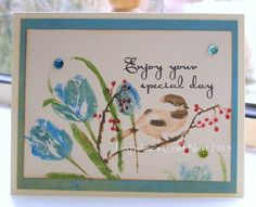 enjoy your special day | Flickr - Photo Sharing! Penny Black stamps