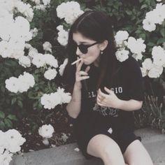 Shirt: tumblr, black shirt, white words, grunge, sunglasses ...
