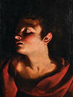 Quadro pintado a oleo, Escola Italiana, seguidor de Michelangelo, 49,5cm X 39cm, 7,950 USD / 7,180 EUROS / 25,900 REAIS / 53,240 CHINESE YUAN