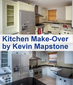 Kevin Mapstone uses #Tikkurila Feelings #Furniture #Paint to re-paint a 7 year old #kitchen.