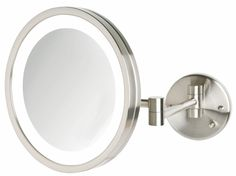 Lighted wall mounted magnifying mirrors for bathrooms google lighted wall mounted magnifying mirrors for bathrooms google search bathrooms pinterest wall mounted magnifying mirror light walls and wall mount mozeypictures Choice Image
