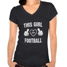 THIS GIRL LOVES FOOTBALL