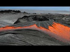 Lava in Hawaii – Leigh Hilbert • The rocks, they are alive!