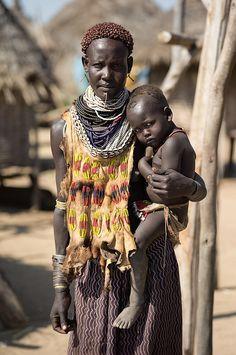 Tama woman in Ethiopia
