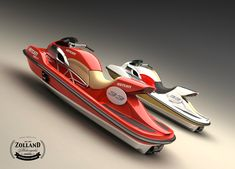 A Ducati that rides on water? Meet the Wetcati jetski concept from Swedish company Zolland Design AB. Via the Bike EXIF Instagram: http://instagram.com/bikeexif