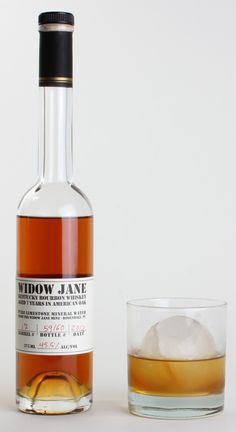 Widow Jane Whiskey - great name, great bottle, on my list of sips to sample...