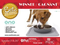 The Best New Product Competition at PIJAC Canada! #OnoPromo #OnoFriends#OnoCrew #GoodBowl #GreatBowl