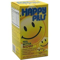 Brain Pharma Co  Happy Pills 60 Capsules * You can get additional details at the image link. (This is an affiliate link) #WeightLossProducts