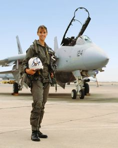 Carey Lohrenz became one of the first female combat pilots in the Navy by not taking no for an answer.