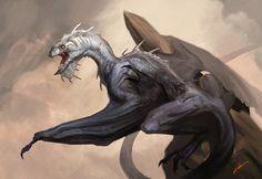 Vermithrax class demo by Carlo Arellano - dragon - Art of Fantasy