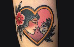 Bruna Yonashiro é uma artista brasileira que cria tatuagens inspiradas pelo estilo neotradicional e Old School. São traços fortes e cores perfeitas!