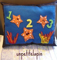Baby Starfish Pillow