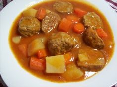 Crock Pot Meatball Stew