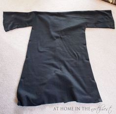 Harry Potter robe and Tie --how to make tutorial.