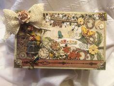 Crafty Artsy Designs: Altered Cigar Box