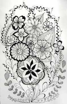 zentangles 092--o pretty----repinned by acb