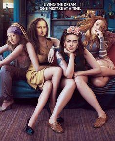 "What if famous paintings were real photos"" by Ertan Atay Arte Peculiar, Mona Lisa Parody, Art Jokes, Principles Of Art, Photocollage, Classical Art, Renaissance Art, Funny Art, Aesthetic Art"