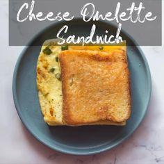 Easy Egg Recipes, Spicy Recipes, Cooking Recipes, Asian Recipes, Burfi Recipe, Chaat Recipe, Cheese Omelette, Egg And Cheese Sandwich, Cheese Sandwich Recipes