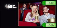 OFERTA CUPONISIMO: Entrada para los cines ABC Elx + palomitas + bebida por 7€ o dos entradas por sólo 13€