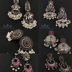 Buy Silver For Jewelry Gold Earrings Models, Gold Jhumka Earrings, Gold Earrings Designs, Antique Earrings, Hoop Earrings, Silver Jewellery Indian, Indian Wedding Jewelry, Silver Jewelry, Gold Jewellery