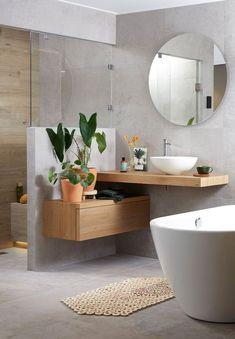 Upstairs Bathrooms, Downstairs Bathroom, Bathroom Renos, Small Bathroom, Warm Bathroom, Bathroom Design Luxury, Modern Bathroom Design, New Bathroom Ideas, Bathroom Design Inspiration