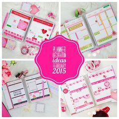 Planner Decoration Ideas: February 2015 (Erin Condren Vertical)