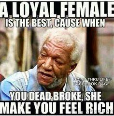 Loyal woman